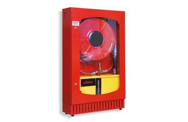 TS EN 671-1 120X75X25 Sulu Sistem Köpüklü Model Yangın Dolabı