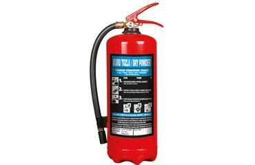 6 Kg ABC Kuru Kimyevi Tozlu Yangın Söndürücü