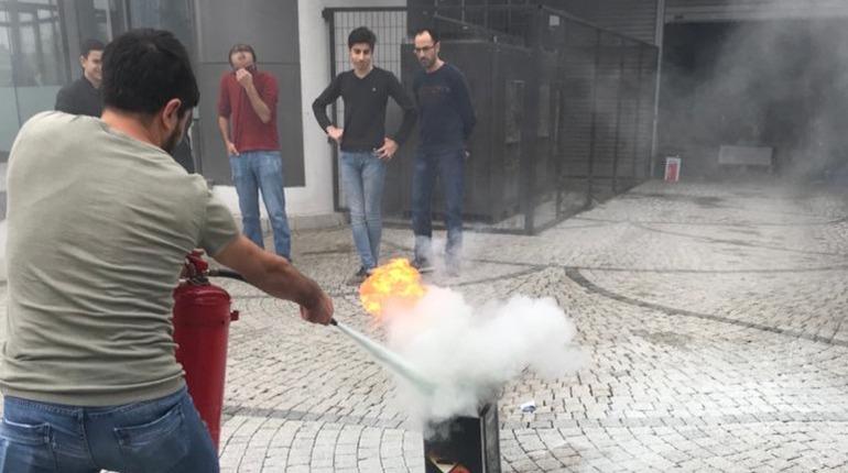 Yangın Tatbikat ve Eğitim Hizmeti